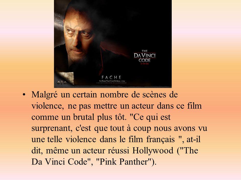 Malgré un certain nombre de scènes de violence, ne pas mettre un acteur dans ce film comme un brutal plus tôt.