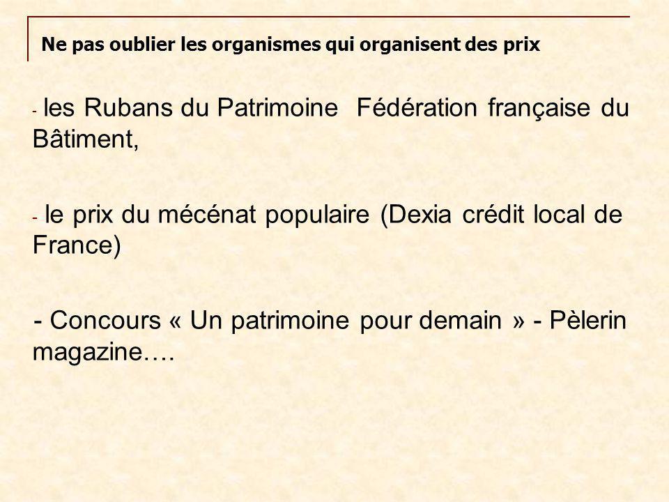 le prix du mécénat populaire (Dexia crédit local de France)
