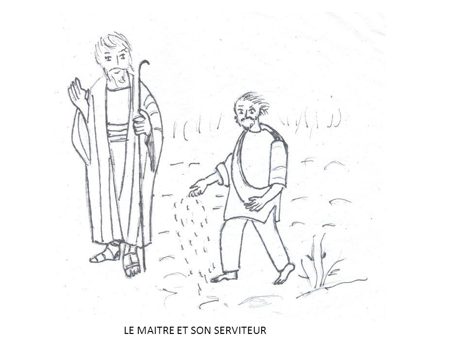 LE MAITRE ET SON SERVITEUR