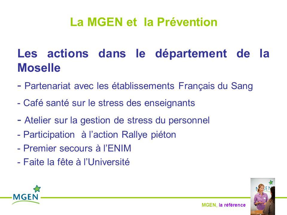 La MGEN et la Prévention