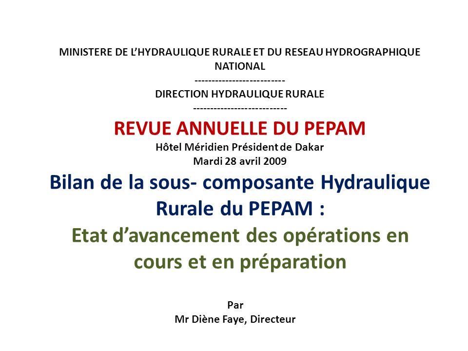 Par Mr Diène Faye, Directeur