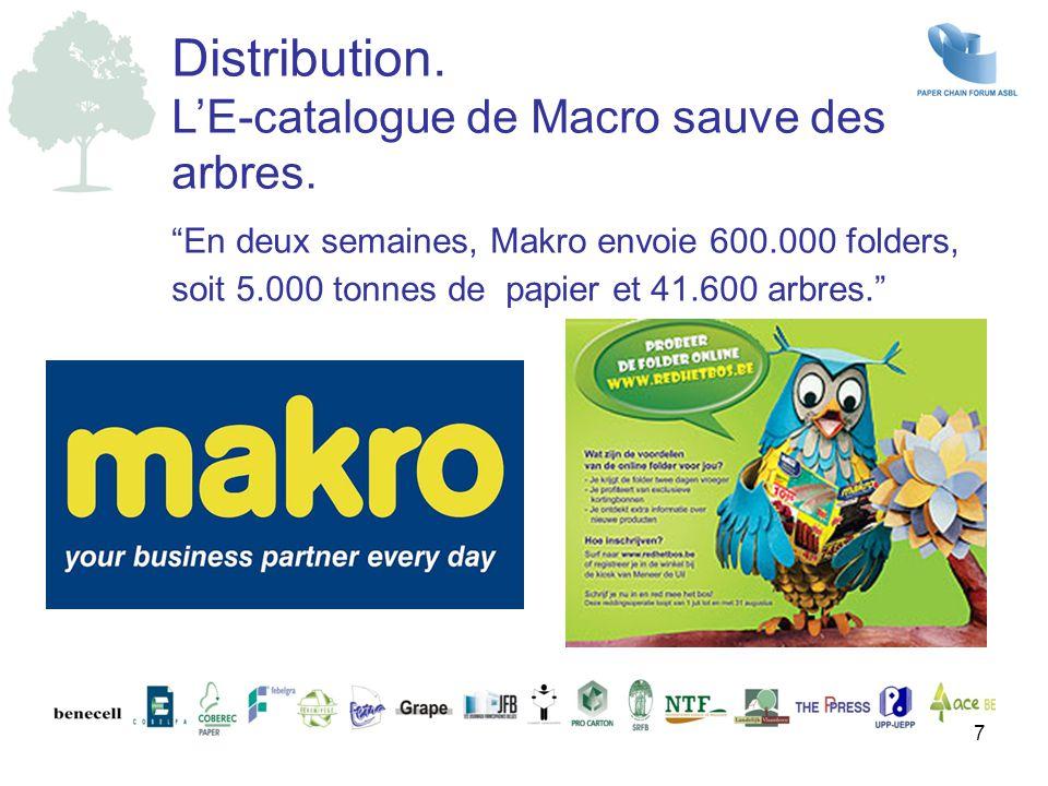 Distribution. L'E-catalogue de Macro sauve des arbres.