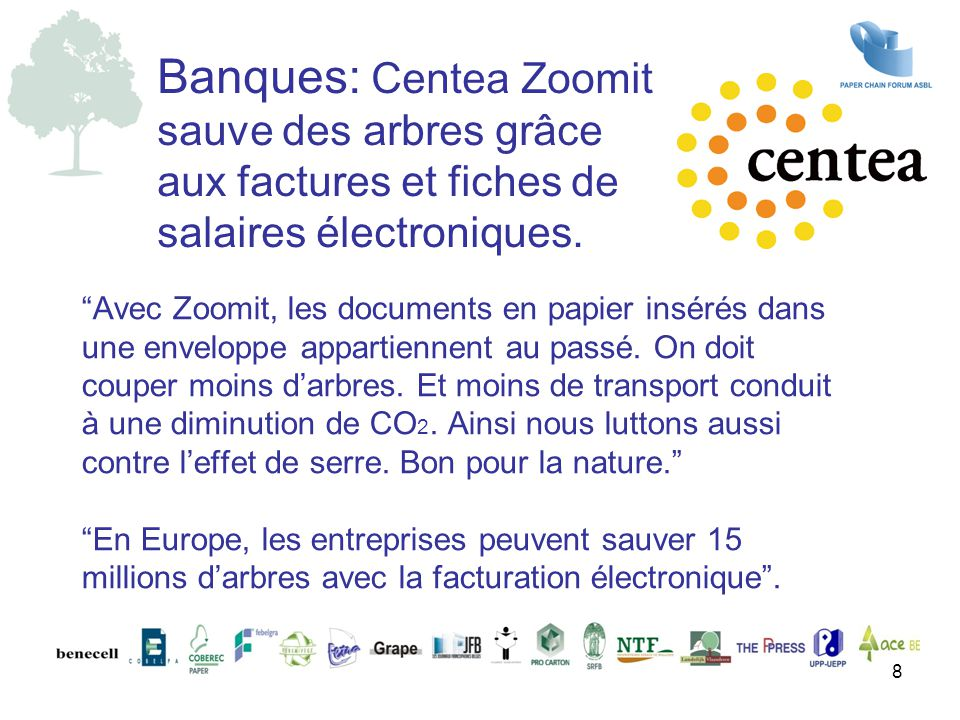 Banques: Centea Zoomit