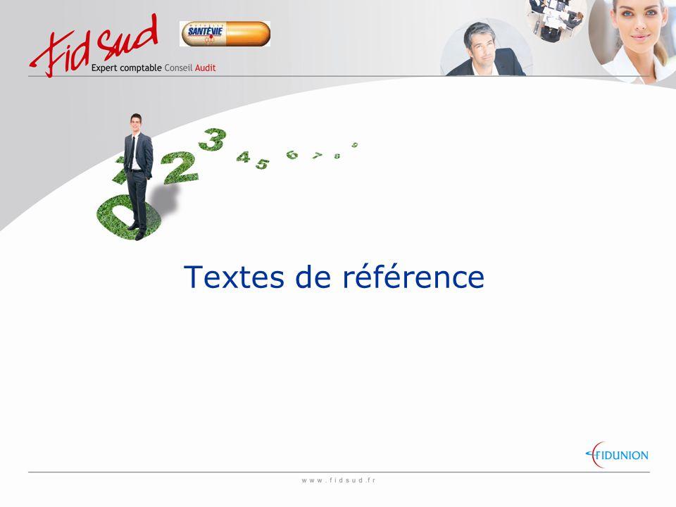 Textes de référence