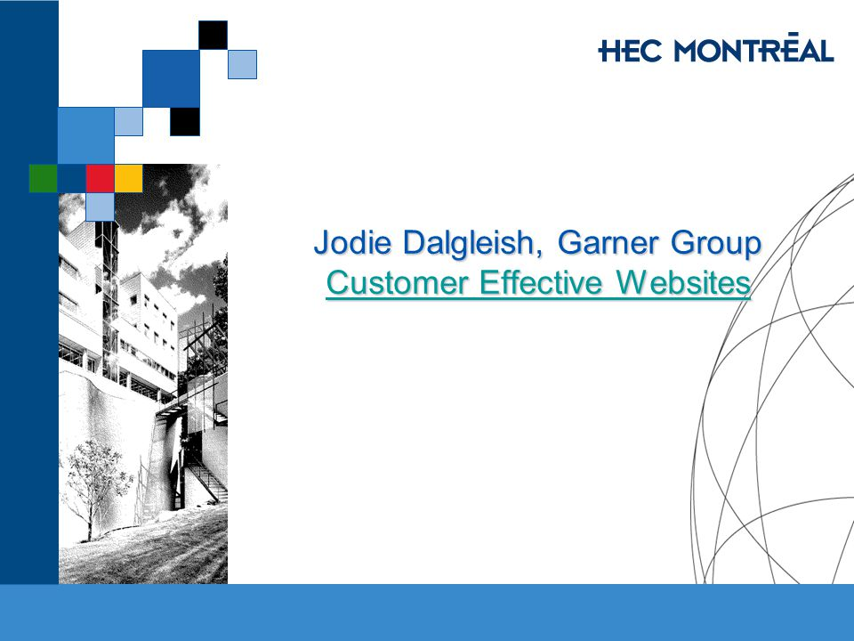 Jodie Dalgleish, Garner Group Customer Effective Websites