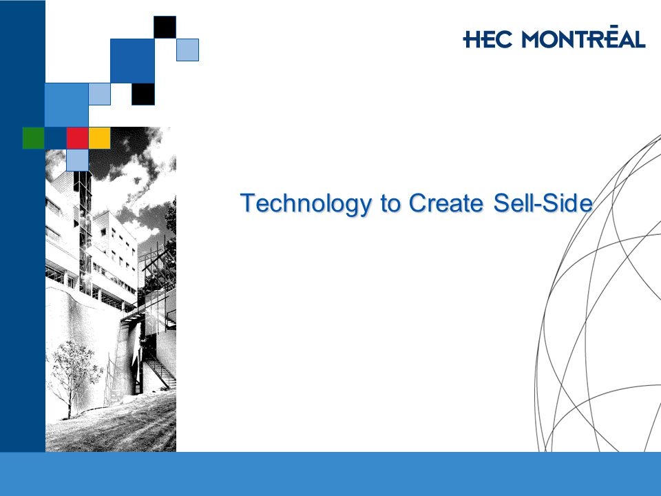 Technology to Create Sell-Side