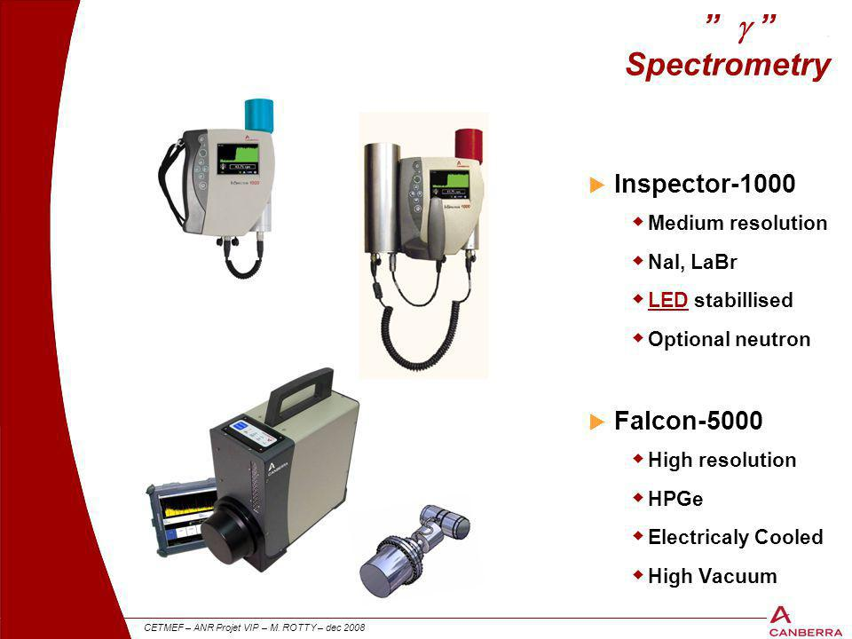 g . Spectrometry Inspector-1000 Falcon-5000 Medium resolution