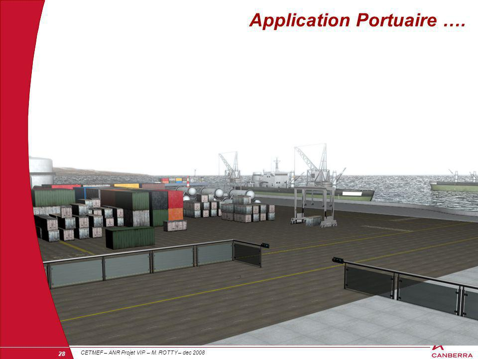 Application Portuaire ….