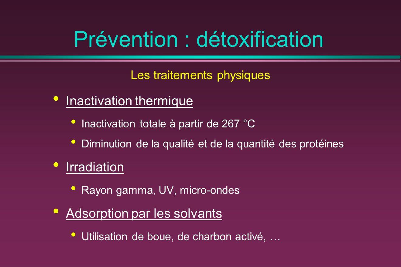 Prévention : détoxification