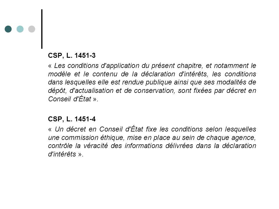 CSP, L. 1451-3