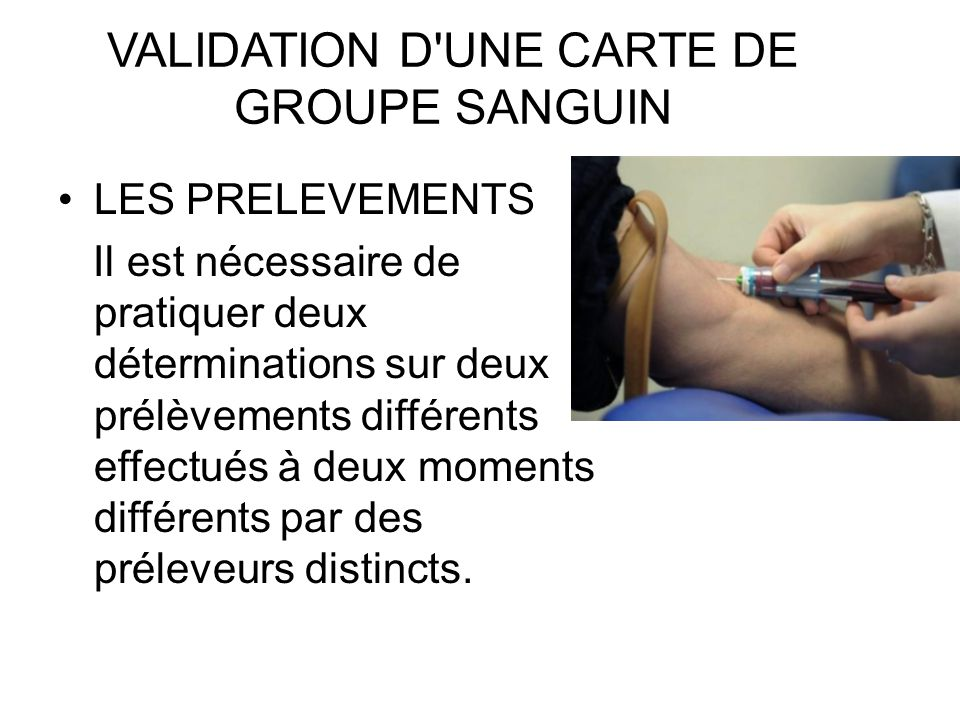 Les transfusions sanguines ppt video online t l charger - Prelevement sanguin sur chambre implantable ...
