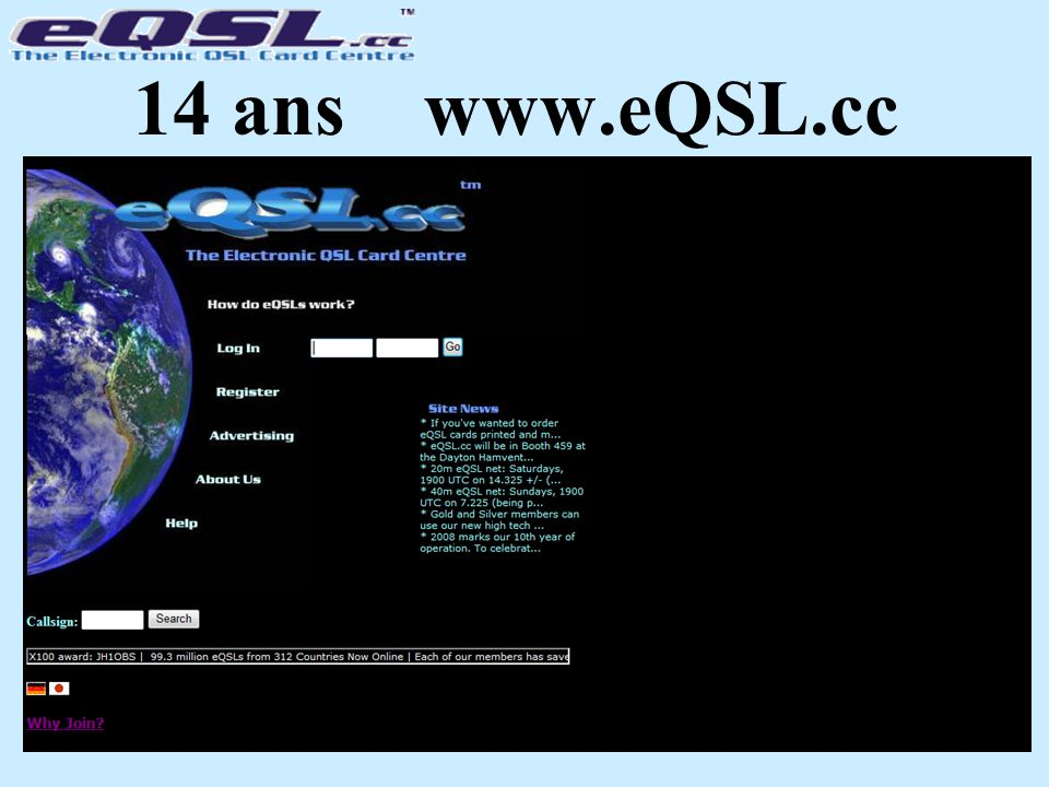 14 ans www.eQSL.cc