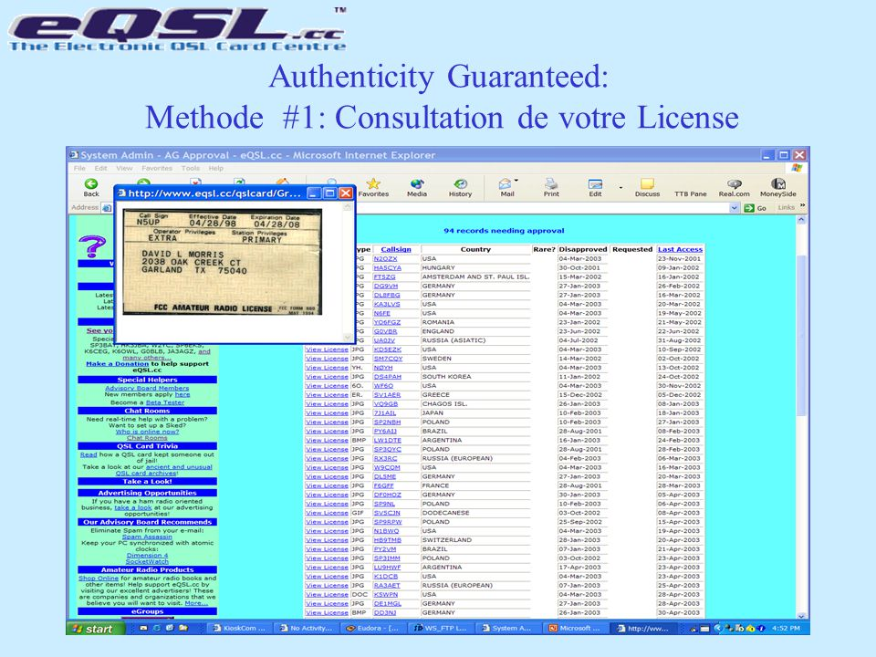 Authenticity Guaranteed: Methode #1: Consultation de votre License