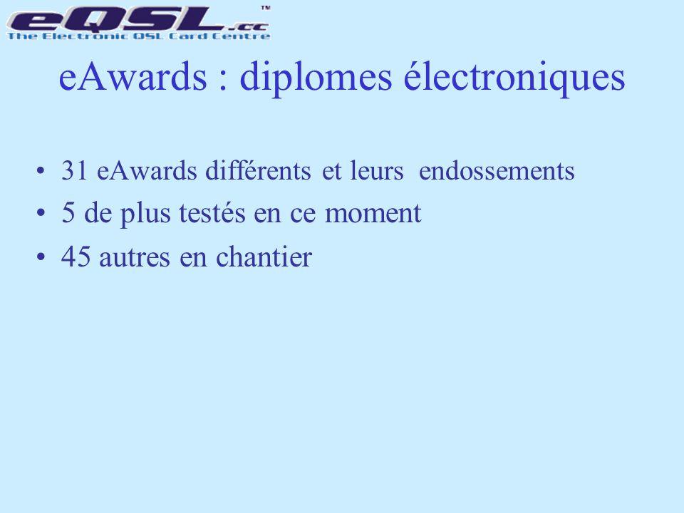 eAwards : diplomes électroniques