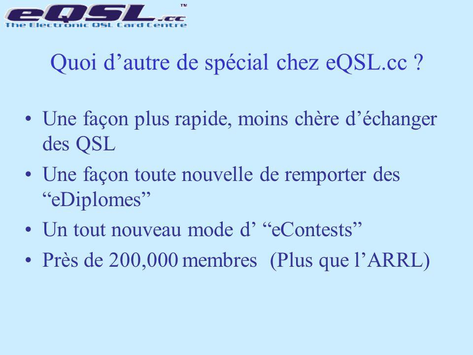 Quoi d'autre de spécial chez eQSL.cc
