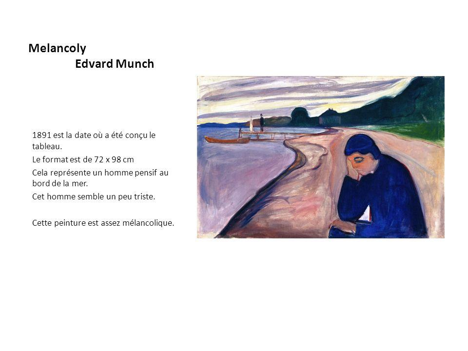 Melancoly Edvard Munch