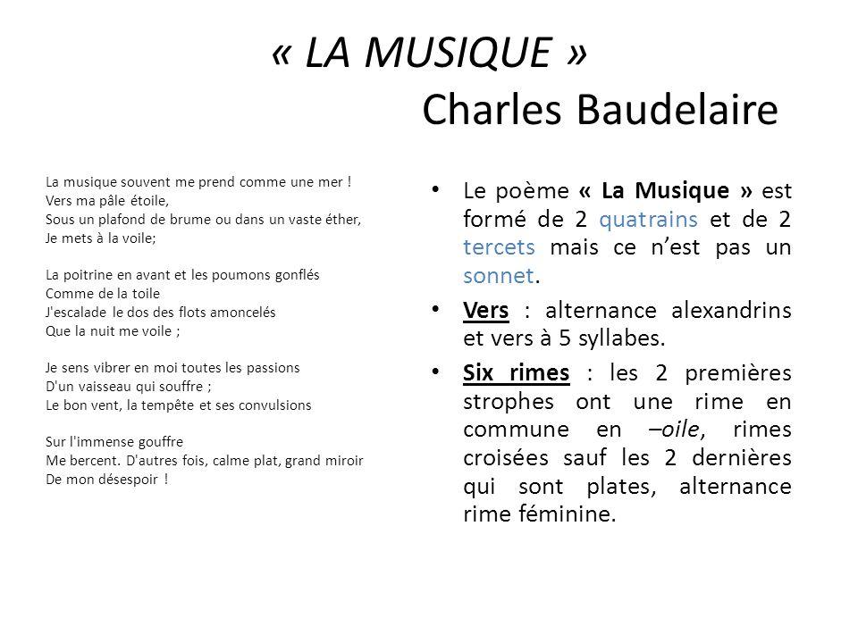 « LA MUSIQUE » Charles Baudelaire