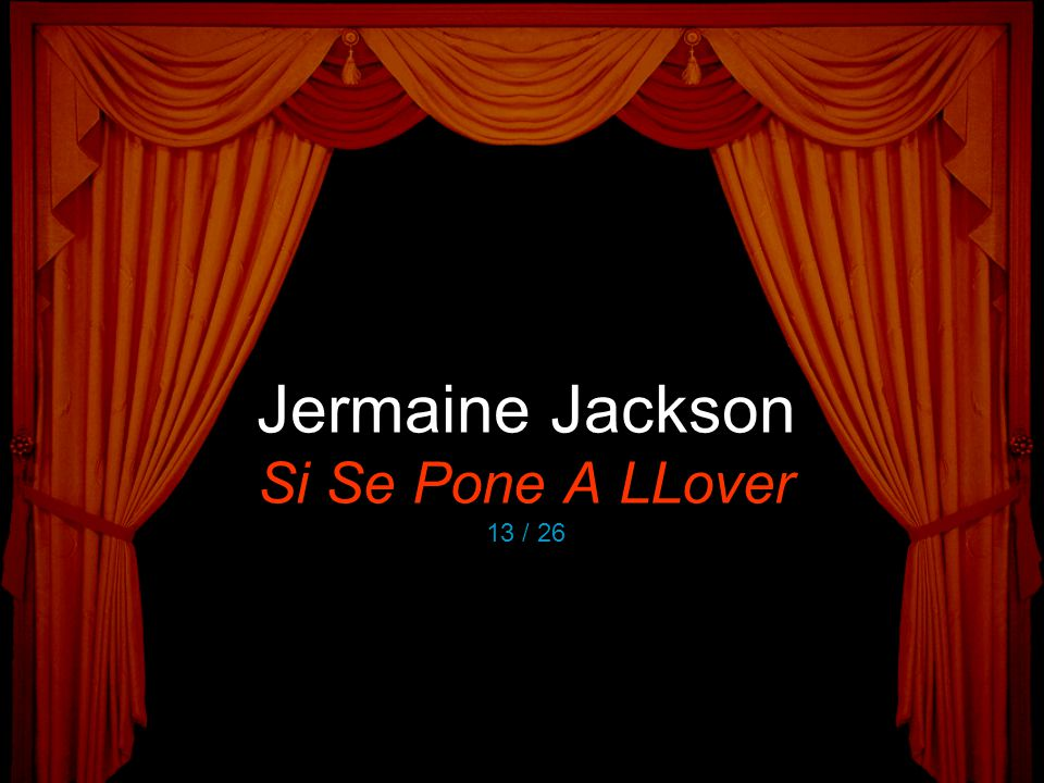 Jermaine Jackson Si Se Pone A LLover 13 / 26
