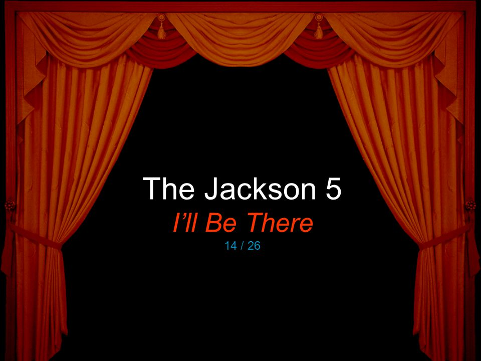 The Jackson 5 I'll Be There 14 / 26