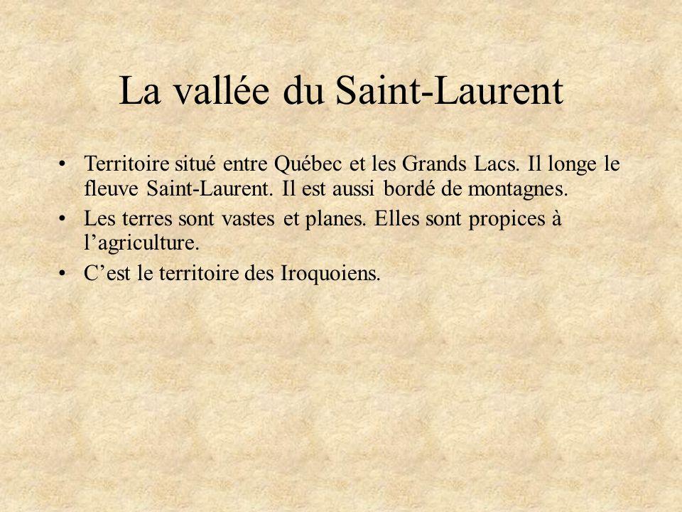La vallée du Saint-Laurent
