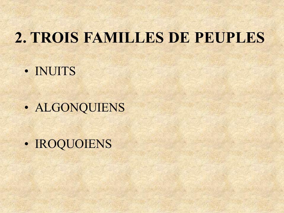 2. TROIS FAMILLES DE PEUPLES