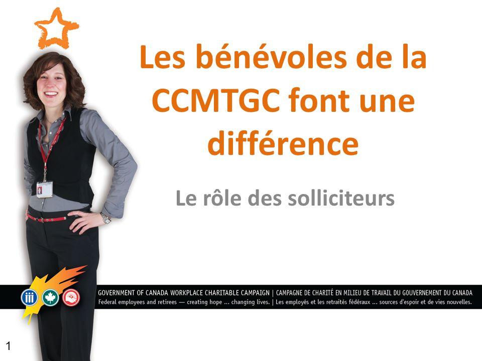 Les bénévoles de la CCMTGC font une différence