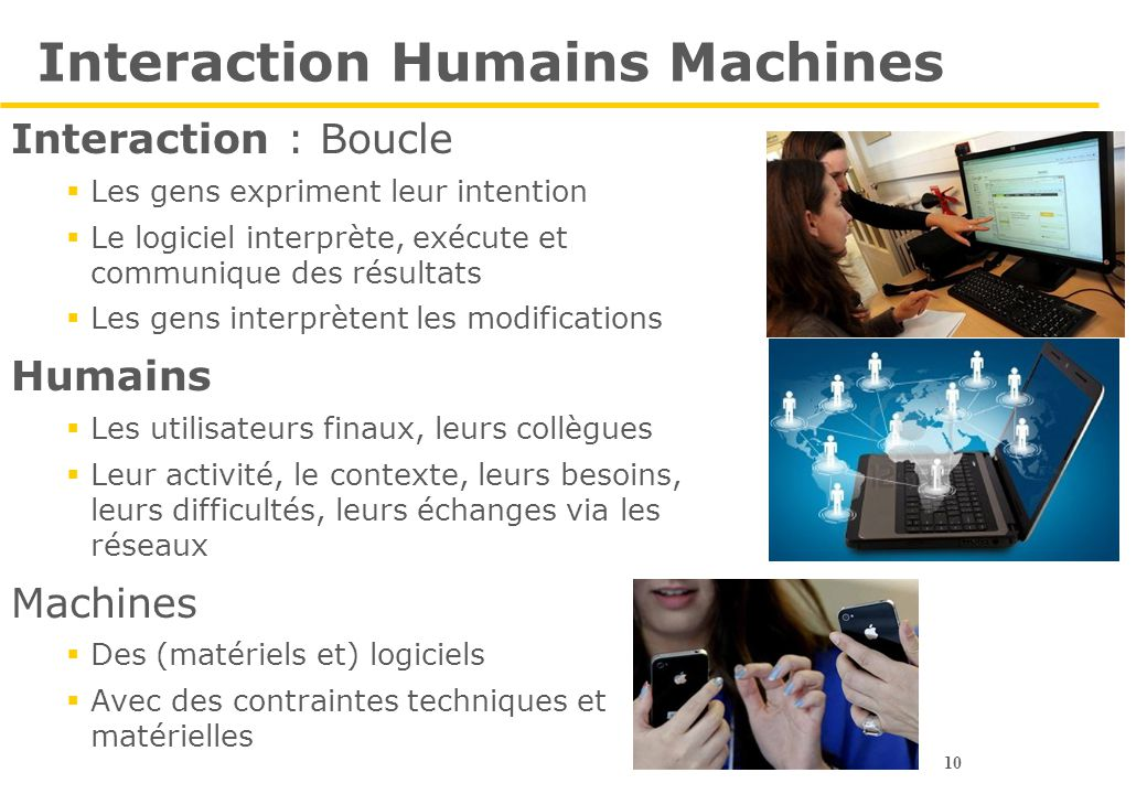 Interaction Humains Machines