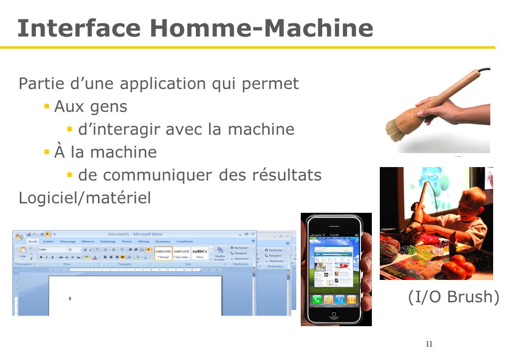 Interface Homme-Machine