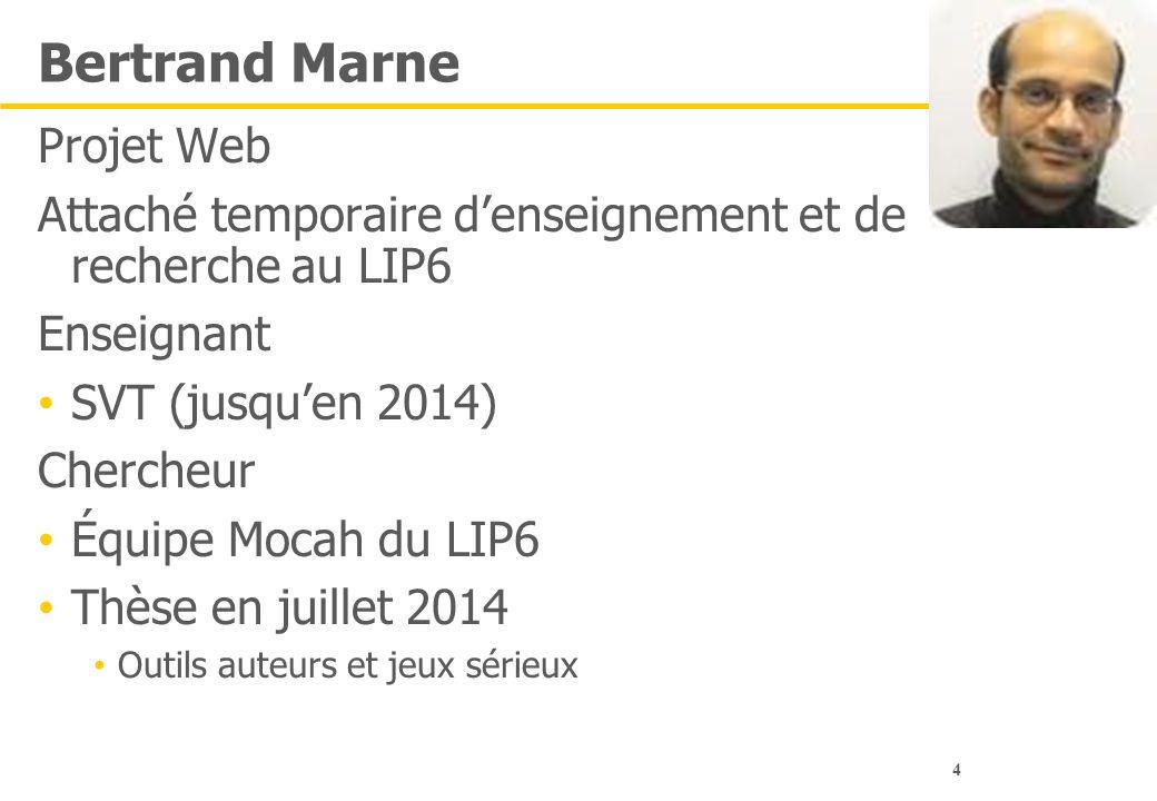 Bertrand Marne Projet Web