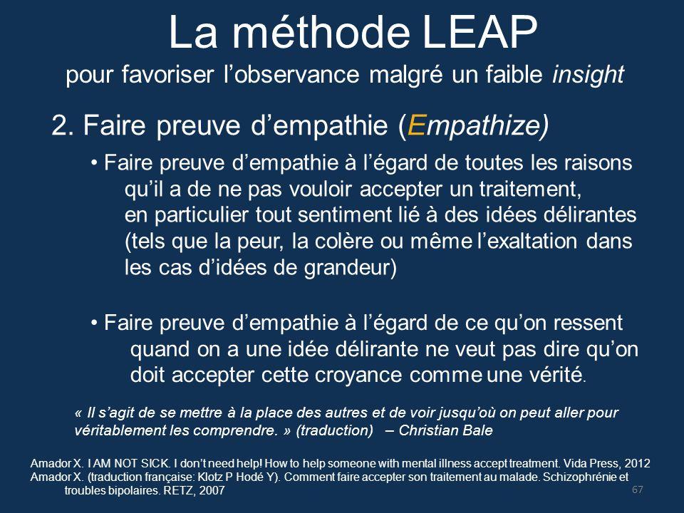 La méthode LEAP 2. Faire preuve d'empathie (Empathize)