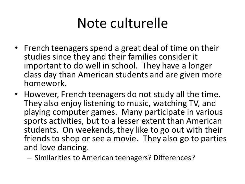Note culturelle