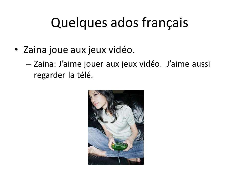 Quelques ados français