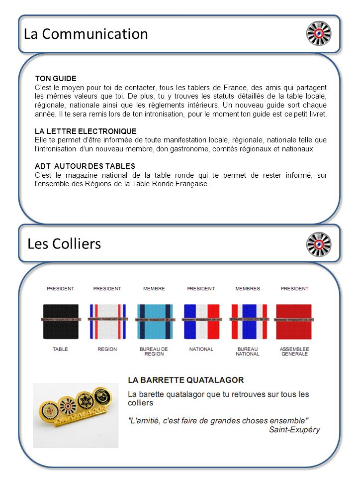 La Communication Les Colliers TON GUIDE