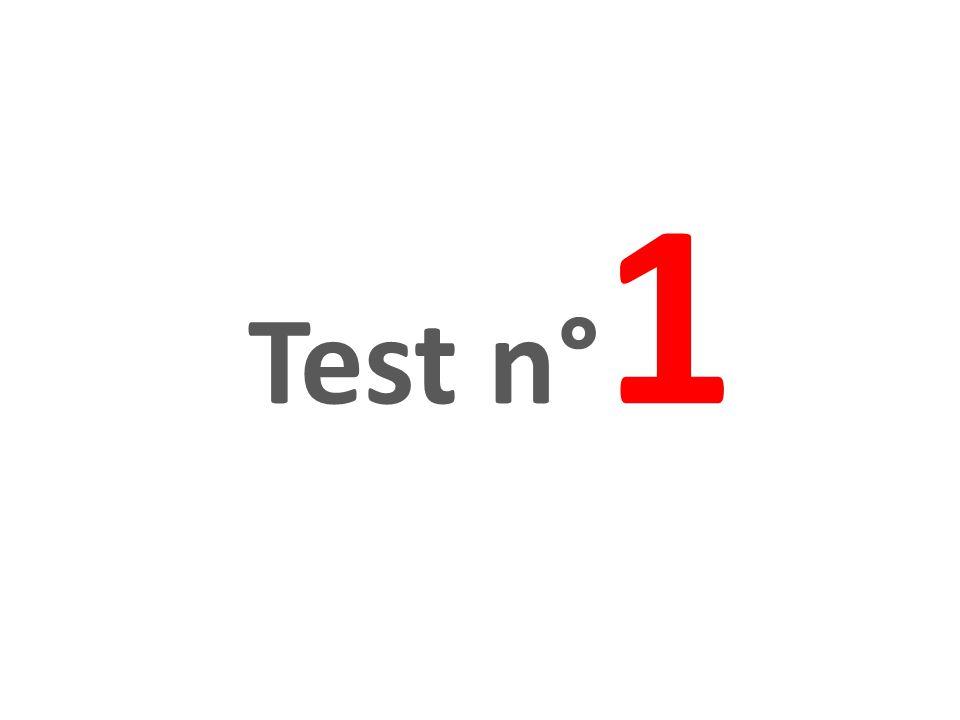 Test n°1