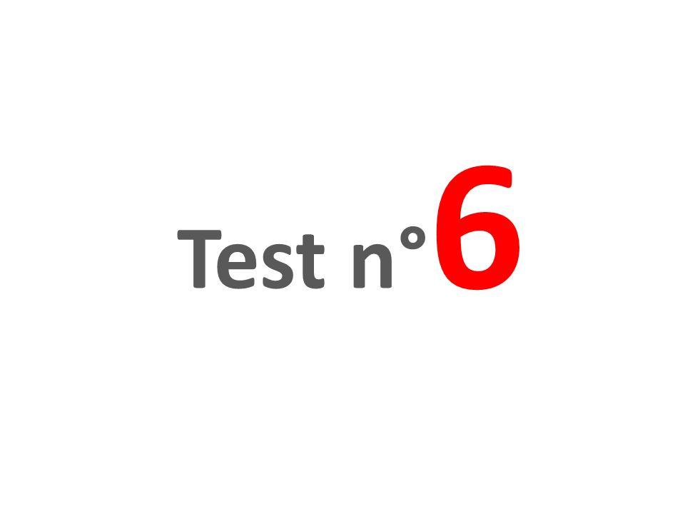 Test n°6