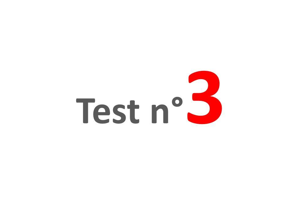 Test n°3