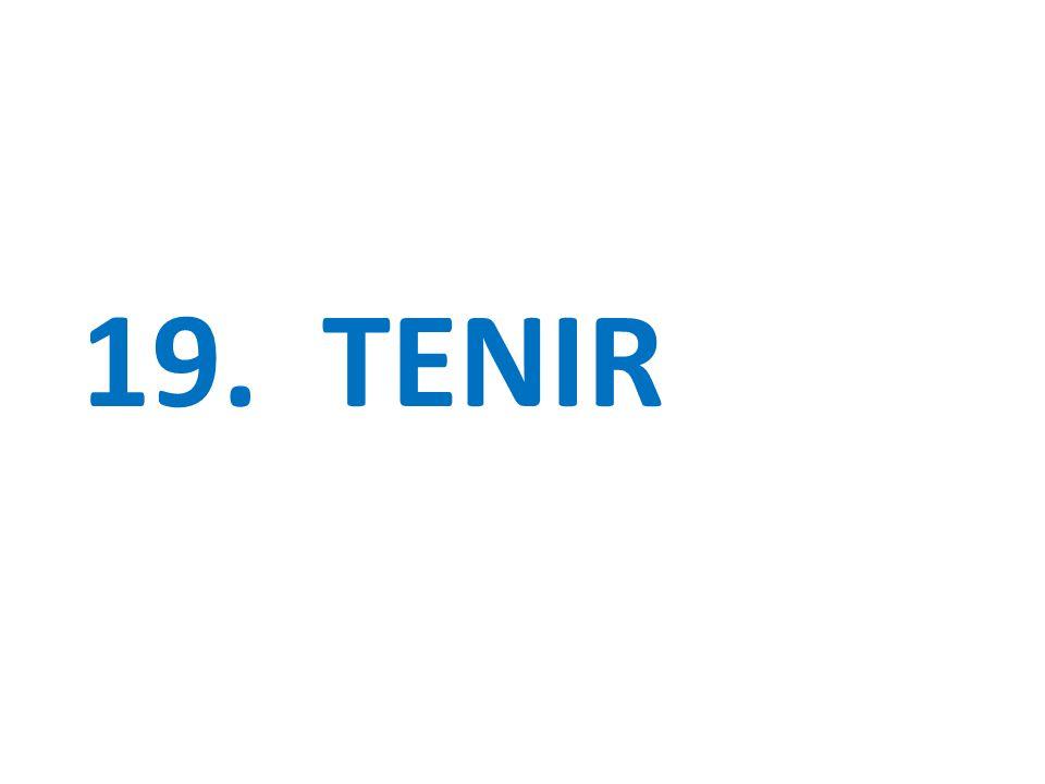 19. TENIR