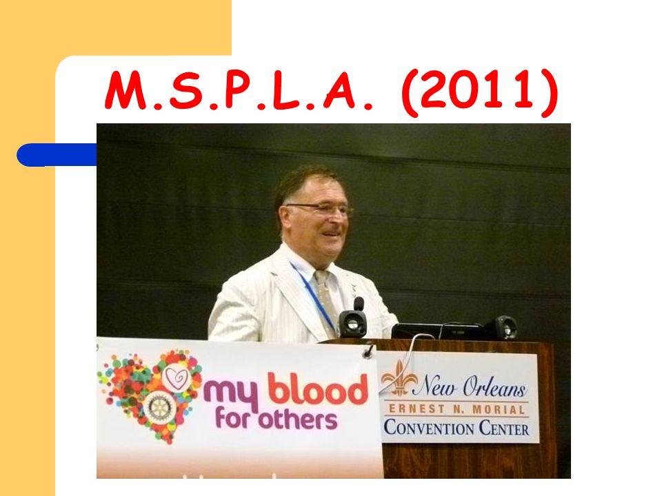 M.S.P.L.A. (2011)