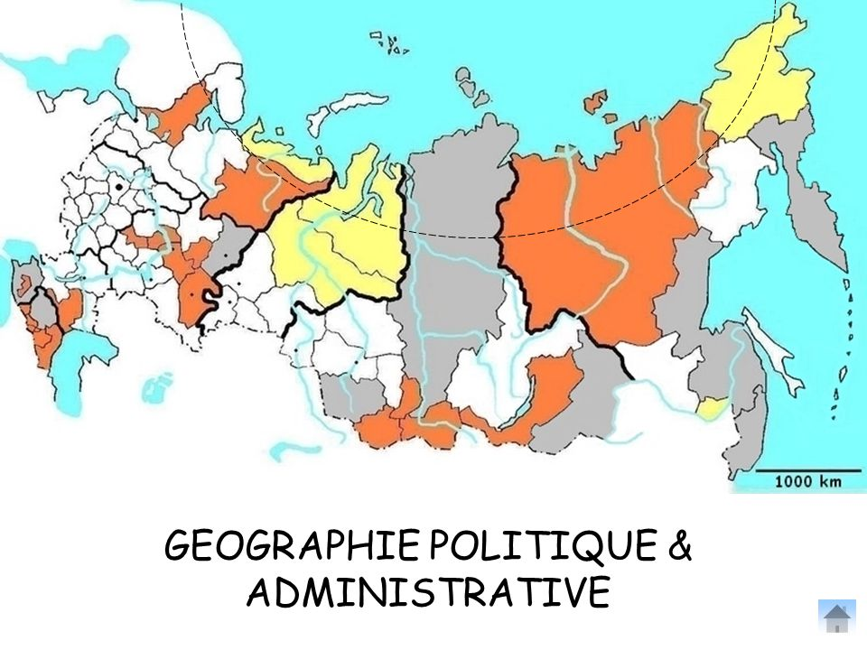GEOGRAPHIE POLITIQUE & ADMINISTRATIVE