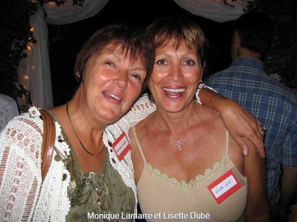 Monique Lamarre et Lisette Dubé