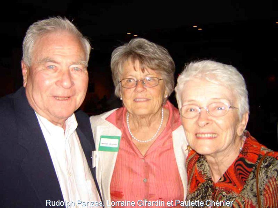 Rudolph Penzes, Lorraine Girardin et Paulette Chénier