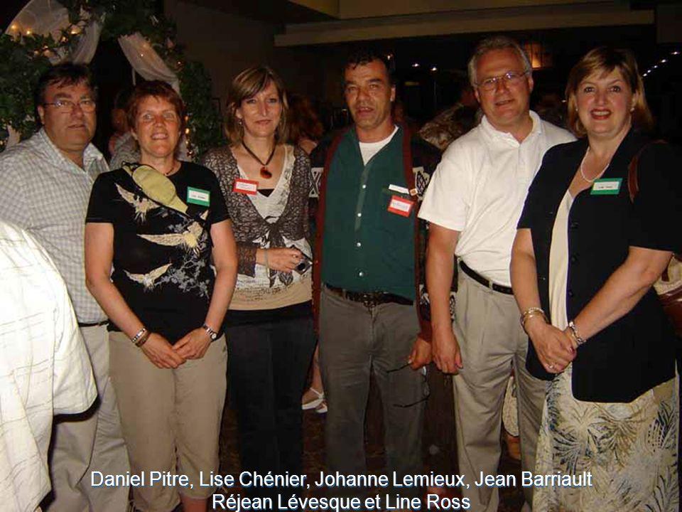 Daniel Pitre, Lise Chénier, Johanne Lemieux, Jean Barriault