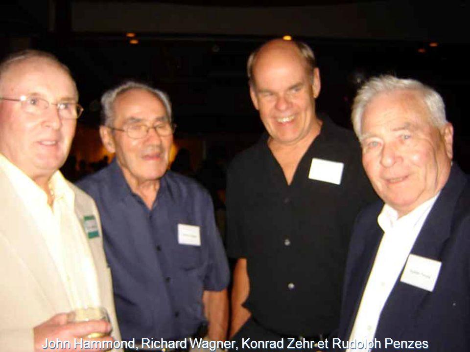 John Hammond, Richard Wagner, Konrad Zehr et Rudolph Penzes