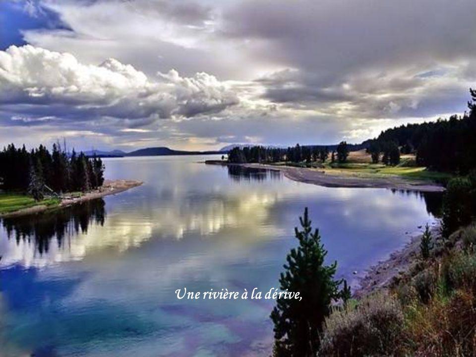 Une rivière à la dérive,