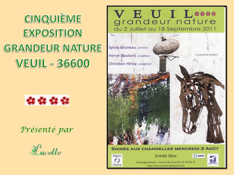 CINQUIÈME EXPOSITION GRANDEUR NATURE VEUIL - 36600