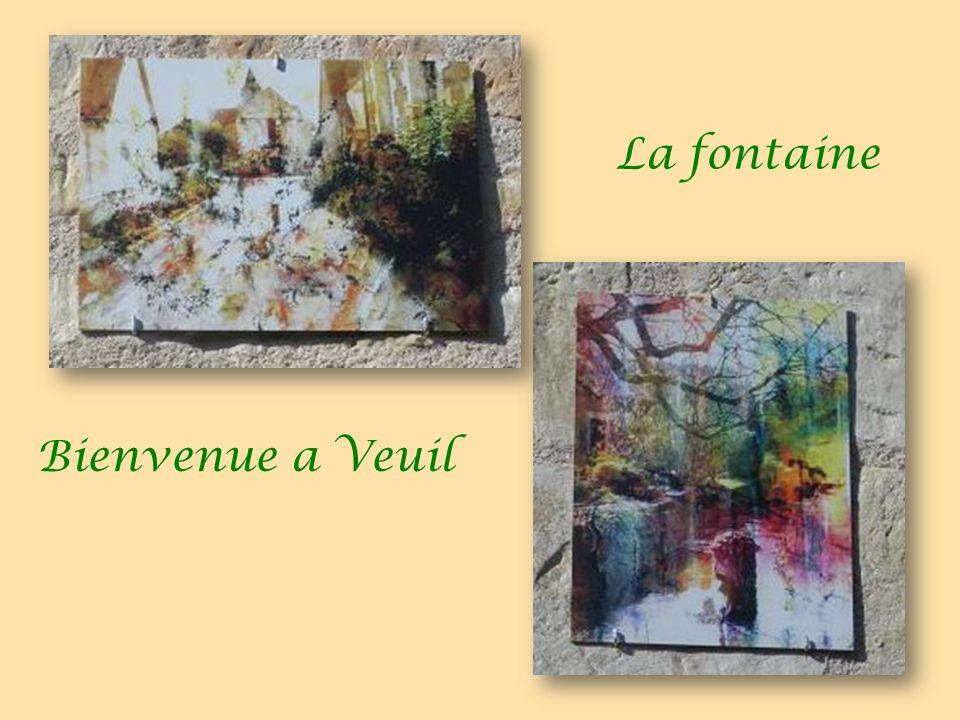 La fontaine Bienvenue a Veuil