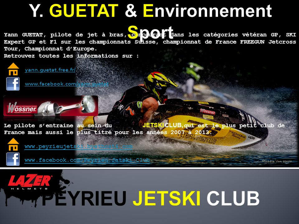 Y. GUETAT & Environnement Sport