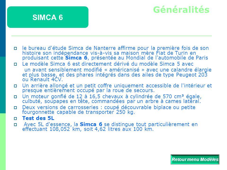 Généralités SIMCA 6.