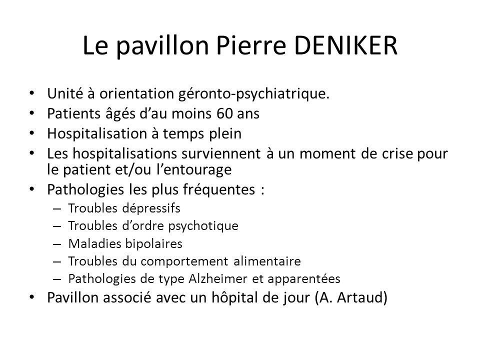 Le pavillon Pierre DENIKER