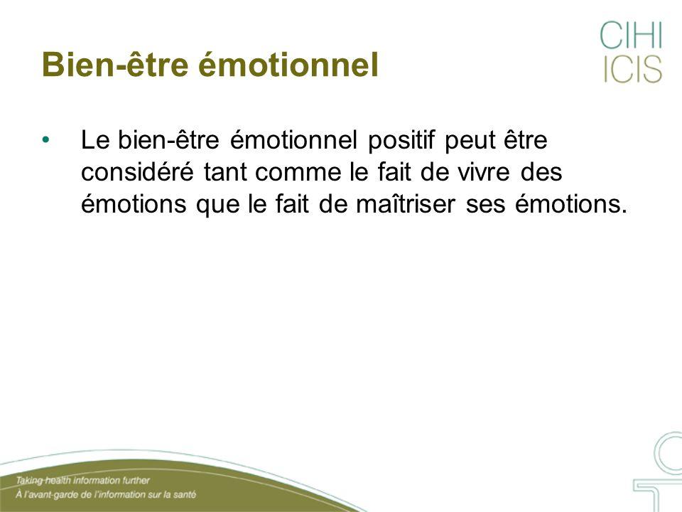 Bien-être émotionnel